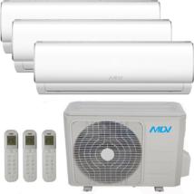 MDV (MIDEA) TRIAL KLÍMA 2x 2.6 kW.beltéri / 1x.5.3 kW beltéri X 10.8 kW.kültéri RAG026B-IU X 2 /RAG-053B-IU/ RM4-108B-OU