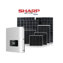 SHARP Napelem Rendszer 8.0 kW.