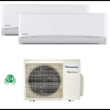 PANASONIC DUAL KLÍMA 2.x 2.0 kW  BELTÉRI + 1 db  4.6 kW KÜLTÉRI  /CS-TZ20WKEW/ CS-TZ20WKEW / CU-2Z41TBE