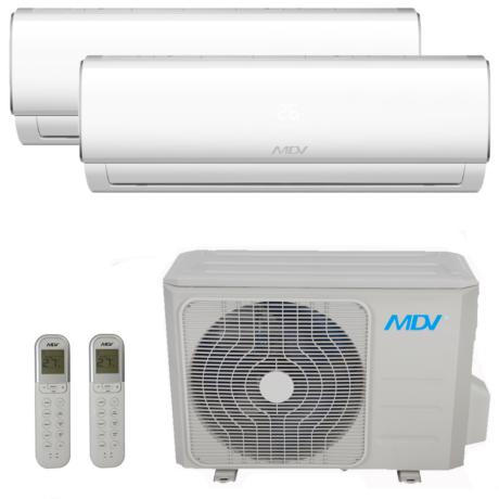 MDV (Midea) DUAL KLMA 1 db.2.5 kW+1 db.3.6 kW BELTÉRI + 1 db  7.9 kW KÜLTÉRI  / RAG026B-IU/ RAG035B-IU / RM3B-079B-OU