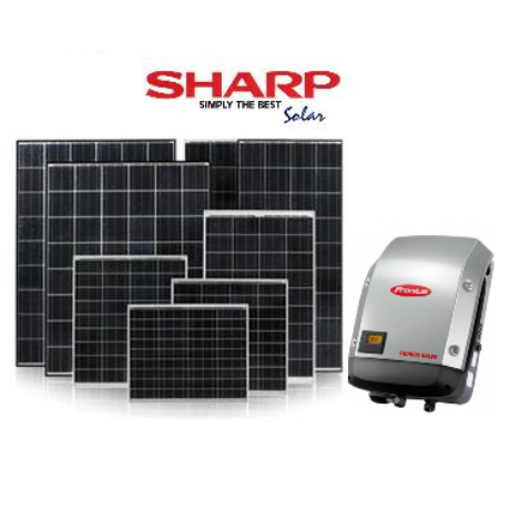 SHARP Napelem Rendszer 2.7 kW.